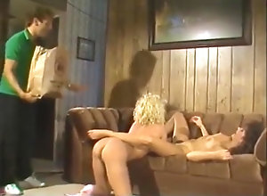 Brunette,Blond,Vintage,Classic,Retro,Threesome,Cumshot,Couple,Billy Dee Billy Dee Fuck...