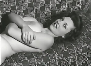 Big Boobs;Big Natural Tits;Vintage;Eleanor;Model Busty 1950's...
