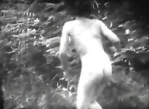 Hairy;Vintage 30s movie 33