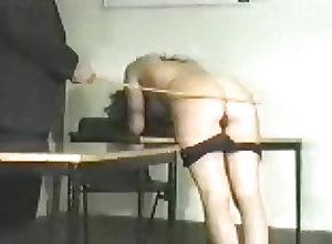 Babes;Vintage;BDSM;Spanking Vintage Caning 01020