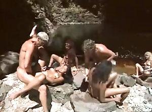 Cumshot;Group;Facials;Latina;Vintage,Cum Shot;Facial;Group Sex;Latin;Vintage Latinas Orgy in...
