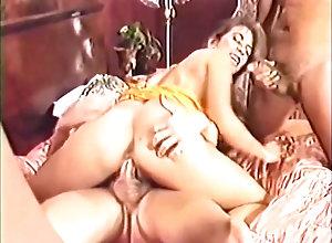Anal,Double Penetration,Vintage,Classic,Retro,Gangbang,Amateur,Classic,Penetrating Classic DP: Elle Rio