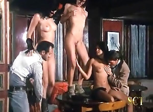 Anal,Double Penetration,Brunette,Red Head,Vintage,Classic,Retro,Threesome,Cunnilingus,Gaping,Big Cock Sola Contro Tutti...