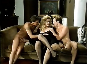 Blond,Vintage,Classic,Retro,Blowjob,Cumshot,German,Karin Schubert Le tre porcelline...