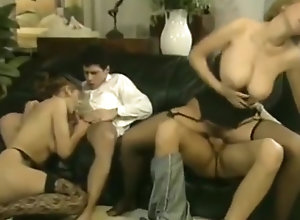 Blond,Vintage,Classic,Retro,Group Sex,French,Hardcore,Group Sex Horny porn movie...