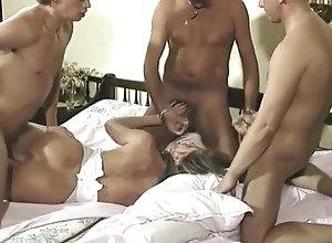 Anal,Double Penetration,Pissing,Fisting,Vintage,Classic,Retro,Gangbang,Cunnilingus,Blowjob,German,Gangbang,Group Sex Gang Bang (1994)