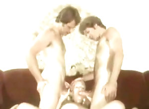 Vintage,Classic,Retro,Threesome,Blowjob,Mouthful More than a...