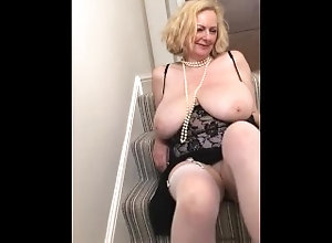 dirty-talk;mature-cougar;fingering-orgasm;nipple-sucking;pearls;painted-nails;milf-stockings;garter-belt;retro;sexy-lingerie;sexy-talk;married-wife;horny-milf;housewife,Big Tits;Fetish;Masturbation;Mature;Exclusive;Verified Models;Solo Female;Female Annabel licking...