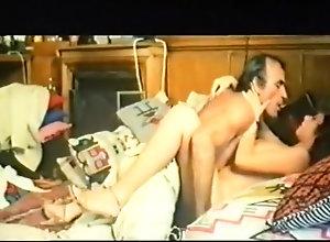 Brunette,Vintage,Classic,Retro,Big Tits Flying Sex 1980