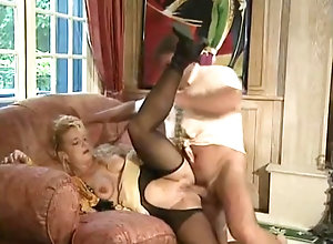 Vintage,Classic,Retro,Threesome,Stockings The Start Of My...