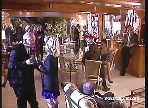 blonde,doggystyle,facial,party,stockings Silvia Saint...