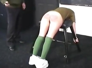 Vintage,Classic,Retro,BDSM,British,Spanking,Teens,Caning,Military Military Caning 2