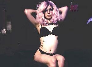 kink;retro;creepy;freak;wierd-chick;pink-hair;scary;shescaresme,Babe;Vintage;Smoking;Music;Verified Amateurs;Solo Female;Romantic;Tattooed Women When It's Late