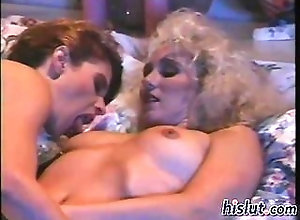 blonde,lesbian,oral,pussy licking Terry fucked Melanie