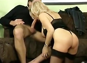 Vintage,Classic,Retro,Big Tits,Group Sex,Big Cock,High Heels,Mature Babette Blue