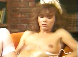 Hot retro lesbian porn action with hairy pussies