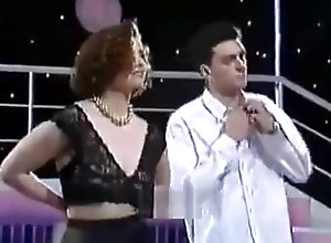 Softcore,Vintage,Classic,Retro,MILF,Dancing,tv Dance on a TV...