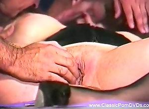 Facial,Vintage,Classic,Retro,Threesome,Big Tits,Stockings,Cumshot,MILF,Classic Pornstar Giant Boob...