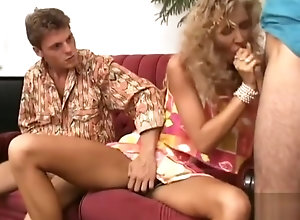 Anal,Double Penetration,Vintage,Classic,Retro,Threesome,Cumshot,Penetrating,Secretary Kristina, DP at...