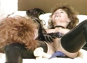 Lesbian;Fetish;Vintage,Boots;Brunette;Caucasian;Fetish;German;Latex;Lesbian;Licking Vagina;Masturbation;Oral Sex;Position 69;Toys;Vaginal Masturbation;Vintage What fetish...
