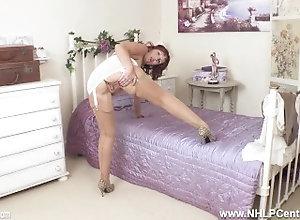 nhlpcentral;kink;masturbate;big-boobs;mom;mother;old;nylons;high-heels;redhead;girdle;mature;vintage;british;boss;big-tits;beau;diamond,Big Tits;Fetish;Masturbation;Mature;MILF;Pornstar;British;Solo Female;Female Orgasm,Beau Diamond Dirty talking...