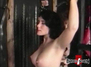 brucesevenfilms;bdsm;big-ass;big-tits;black-hair;brunettes;domination;flogging;lesbian;lingerie;voyeur;retro;fake-tits,Bondage;Pornstar;Vintage,Bionca;Jeanna Fine BRUCE SEVEN -...