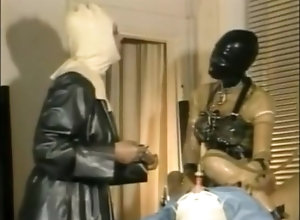 Masturbation,Vintage,Classic,Retro,Big Tits,Gangbang,Latex,BDSM,Femdom,Blowjob,German,MILF,Mistress,Wife GummiKlinik frau...