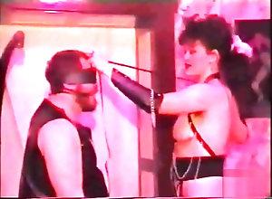 Vintage,Classic,Retro,Latex,BDSM,Bondage,Mistress,Balls,Rubber,Slave guy in rubber...