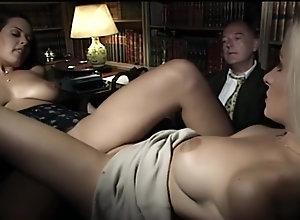 Brunette,Vintage,Classic,Retro,Threesome,Big Tits,MILF,Angelica Bella Amazing Xxx Video...