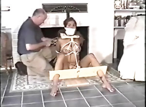 Vintage,Classic,Retro,Bondage,Fetish,Tied Up Betrothed In...