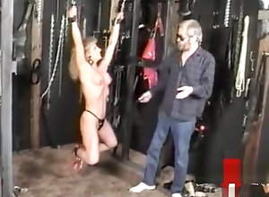 Blond,Vintage,Classic,Retro,BDSM,Hardcore,Perfect,Submissive,Tied Up Submissive babe...