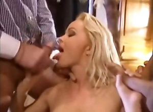 Anal,Double Penetration,Blond,Vintage,Classic,Retro,Threesome,Big Tits,Blowjob,Penetrating Silvia DP