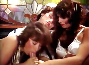 Vintage,Classic,Retro,Threesome,Couple,Dark Hair,Sailor Two brunettes...
