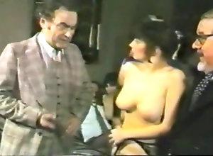 Brunette,Vintage,Classic,Retro,Hairy,Stockings,BDSM,British,Spanking,Police,Spanked,UK British Lady...