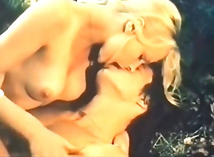 Blond,Red Head,Vintage,Classic,Retro,Threesome,Outdoor,Blowjob,Skinny GinaJanssen (Les...