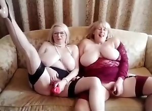 girlgirl;english-blonde;big-natural-tits;mature-milf;mature-over-50;cougars;dildo-ride;vintage-stockings;shaven-pussy;british-dirty-mature;two-girls;onlyfans;duo-masturbation,Fetish;Lesbian;Exclusive;Verified Models CATH & ANNA -...