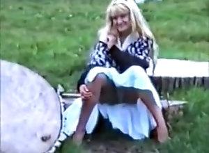 Softcore,Blonde,Stockings,Skirt,Tease & Denial,Voyeur Suzanne Brando 2