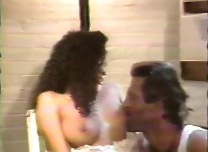Latina,Vintage,Classic,Retro,Hairy,Blowjob,Cumshot Nina De Ponca...