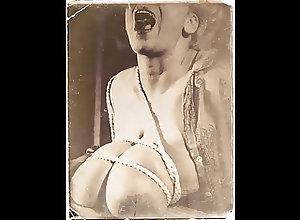 Tits;Big Boobs;Vintage;Nylon;Bondage;Vintage Bondage Vintage Bondage