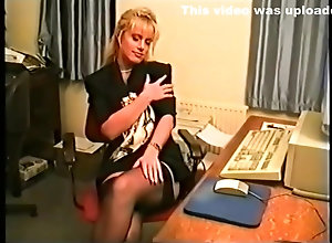 Brunette,Vintage,Classic,Retro,Big Tits,Stockings,Toys,Solo Female,Louise Hodges Louise Hodges -...