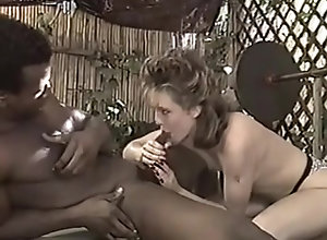 Interracial,Brunette,Vintage,Classic,Retro,Blowjob,Cumshot,Virgin Nikki Cherry and...
