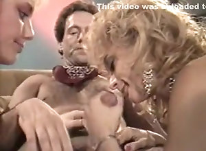 Brunette,Blond,Vintage,Classic,Retro,Group Sex,Cumshot,Vintage,Nina Hartley The Golden Age of...