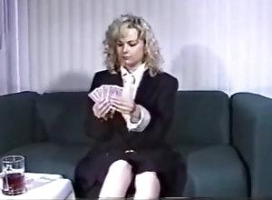 Vintage,Classic,Retro,Striptease,Mature,Solo Female Strip Poker 2