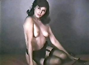 Nylon;Softcore;Stockings;Striptease;Vintage;Pretty Woman;Stocking Heels;Basque;Pretty PRETTY WOMAN -...