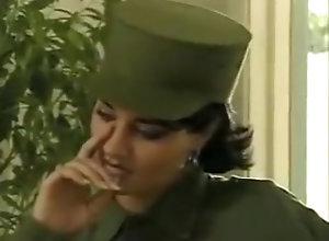Vintage,Classic,Retro,Latina,Military Cuban army girls...