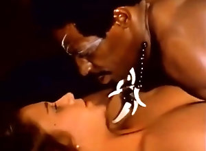 Interracial,Vintage,Classic,Retro,Group Sex Behind the green...