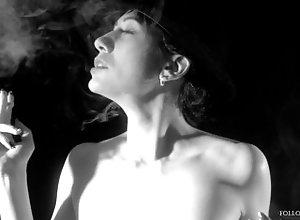 "kink;petite;smoking;smoking-cigarette;smoker;heavy-smoker;film;french-vintage;smoking-fetish;costume;naked-smoking;smoke-tease;blowing-smoke;hat-porno;4k;high-quality-amateur,Babe;Small Tits;Smoking;French;Verified Amateurs;Parody;Cosplay;Solo Female ""Body &..."