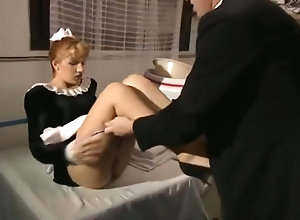 Red Head,Vintage,Classic,Retro Butler And Maid...