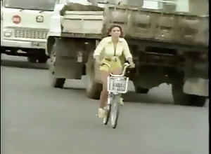 Brunette,Vintage,Classic,Retro,Toys,Public,Fetish,city,Shorts,Vintage City Girl Shorts...