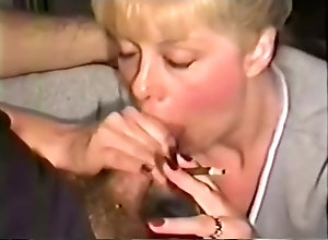 Vintage,Classic,Retro,Blowjob,Fetish,Smoking,Hot Mom,Kinky,Smoking,Sperm,Sucking Sexy cougar gives...